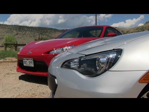 Subaru BRZ vs Scion FR-S