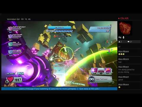 Live PS4 Stream: PvZ GW2 (PS4) Infinity Time & MP with friends Ep.60