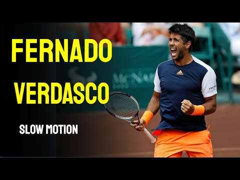 Fernado Verdasco Slow Motion