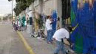 1er Mega concurso de Graffiti en el Estadio Azteca
