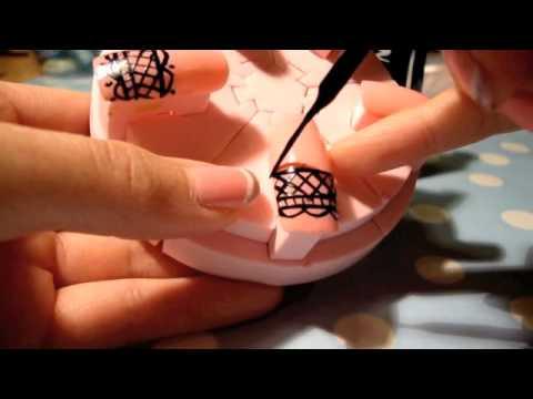 Cute Gothic Nail Designs Cute Gothic Lace Nails