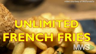 McDonald's testing unlimited french fries