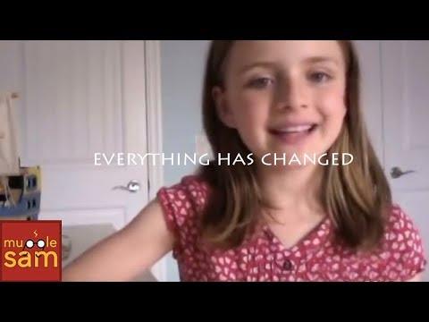 Taylor Swift - Everything Has Changed Ft Ed Sheeran | Sophia & Bella video