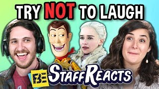 Try To Watch This Without Laughing or Grinning Battle #11 (ft. FBE Staff)