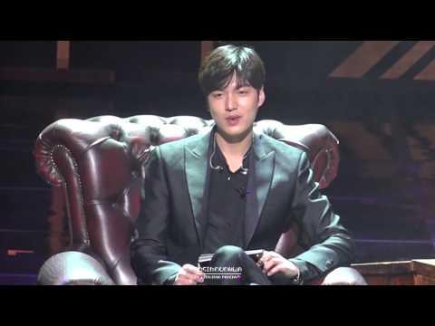 20170218 이민호 토크콘서트 The originality of LEE MIN HO 단역시절 에피소드 by.소심눈화