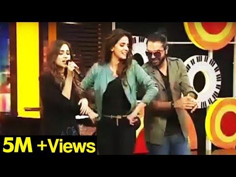 Saba Qamar Dance On Aima Baig Song Kalabaaz Dil