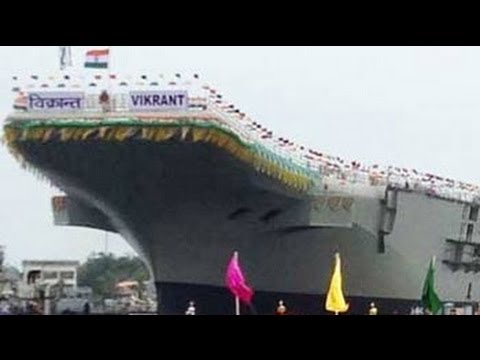 India milestone as it launches own aircraft carrier Vikrant