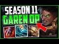 How to play Garen Top & CARRY! + Best Build/Runes | Garen Guide Season 11 League of Legends thumbnail