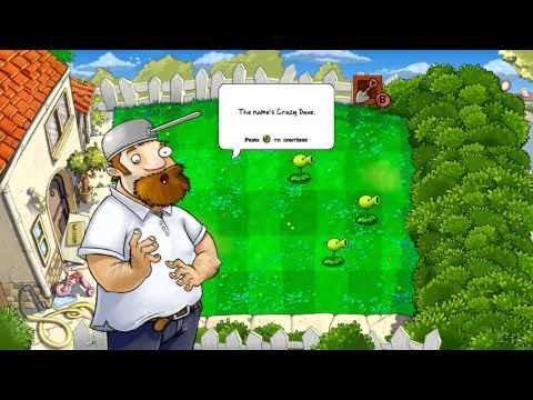 Plants vs Zombies Xbox 360 Gameplay Part 2