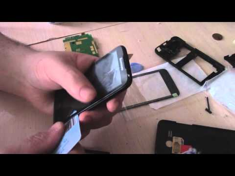 Thl w200/w200s mobile phone screen replacement - video clip