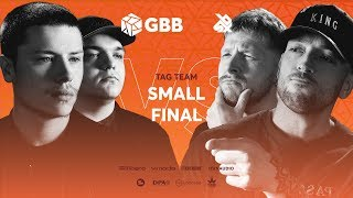 KOTCHA vs 16BITZEE |  Grand Beatbox Battle 2019 | Tag Team Small Final