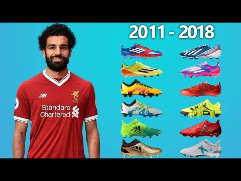 MOHAMED SALAH - NEW FOOTBALL BOOTS & ALL SOCCER CLEATS 2011-2018