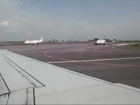 Alitalia Express Embraer E170 takeoff at Rome Fiumicino