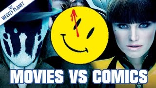 Watchmen Movie VS Comic - Which Is Better? (It's The Comic)