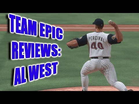 TEAM EPIC REVIEWS! - AL West - MLB The Show 18