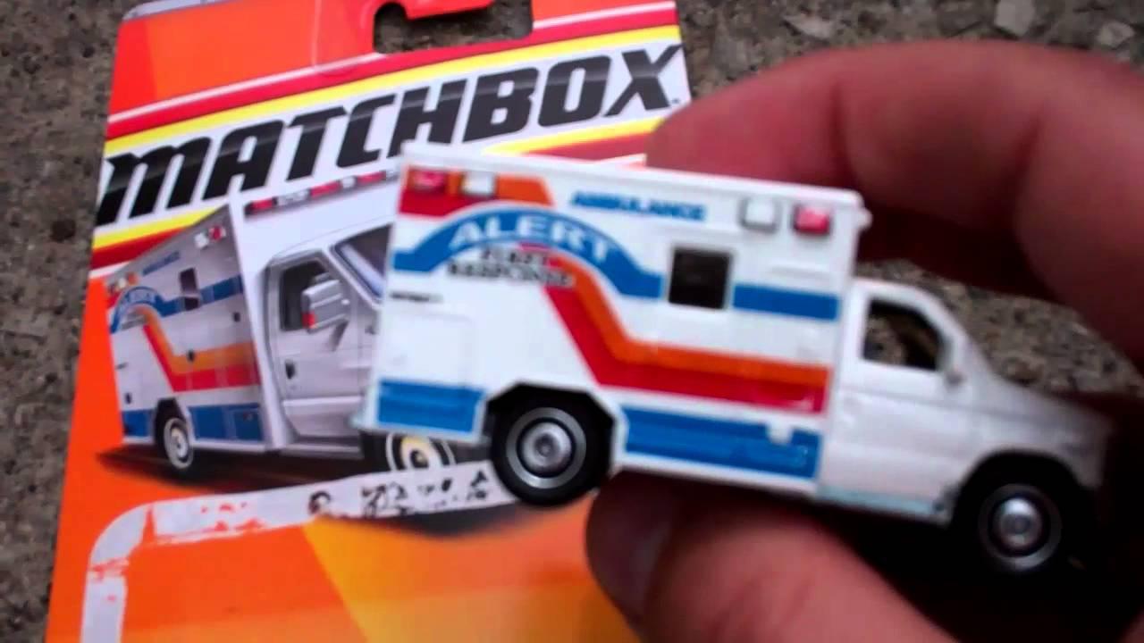 Ambulance Matchbox Car New Matchbox Cars 4-14-12