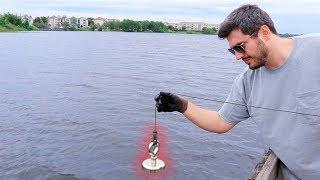 Procurando TESOUROS no Lago com um Imã SUPER POTENTE !! ( PESCA MAGNÉTICA )