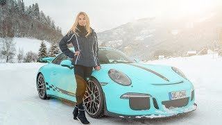 DRIFTING in the Snow with the GT3 and NIKI SCHELLE