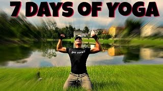 "Sean Vigue's ""7 Day Yoga Challenge"" - All Levels Yoga Training Program #yogachallenge"