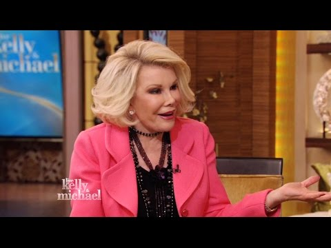 Joan Rivers Throughout the Years on LIVE