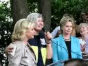 3/4 Elanor Smeal & Hillary Clinton @ Booksigning for Congresswoman Carolyn B. Maloney, Washington DC 7/30/08
