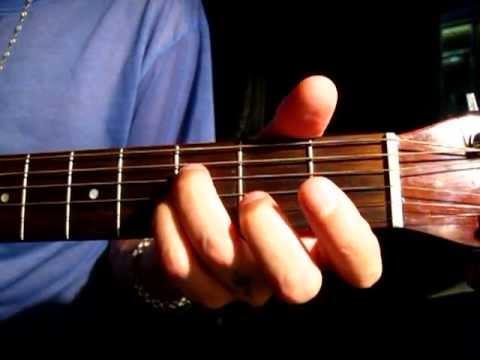 Как играть на гитаре аккорд Bm