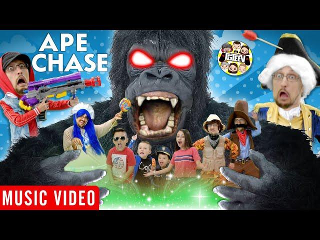 APE CHASE 🎵 FGTeeV OFFICIAL MUSIC VIDEO thumbnail