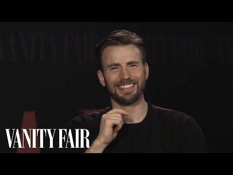 Chris Evans Is a Hopeless Romantic Who May Perspire If You Approach Him