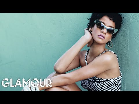 Rihanna on Personal Style and Her Makeup Must-Have - Glamour Cover Star