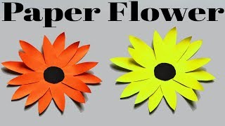 Paper Flower | Waste Material Reuse Idea | Best Out of Waste | MY CRAFTS