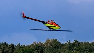 TDR 2 HENSELEIT RC MODEL HELICOPTER 3D FLIGHT DEMO / Seehausen Germany August 2016