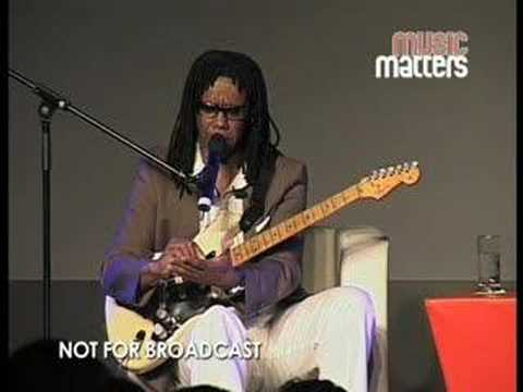 Nile Rodgers on writing