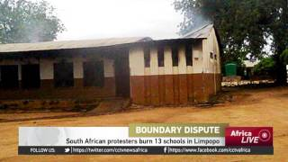 South African protesters burn 13 schools in Limpopo