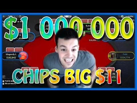 1,000,000 CHIPS BIG $11 (Apr. 27th Highlight)