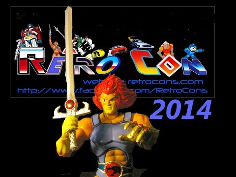 Retro Con 2014 Commercial ft. Larry Kenney as Lion-O