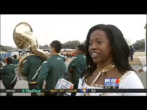 Alcorn @ 2014 MLK Parade/BOTB Gulfport MS