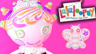 Lalaloopsy Color Me Squiggles N Shapes Doll Unboxing and Review
