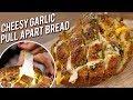 Pull Apart Cheesy Garlic Bread - Quick & Easy Garlic Bread - Bhumika Bhurani