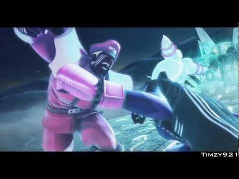 Street Fighter x Tekken - M.Bison & Juri Story Line (Arcade)