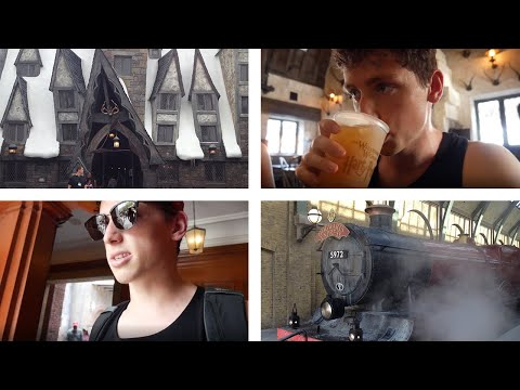 Florida Day 8/9: MORE HARRY POTTER & THE THREE BROOMSTICKS (2019 Vlog)