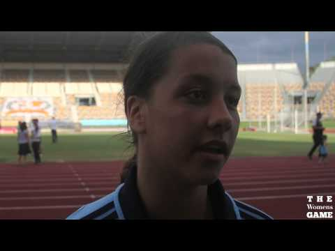 Sydney FC striker Sam Kerr on the 2012/13 Semi Final One
