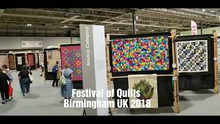 Festival of Quilts, Birmingham UK 2018