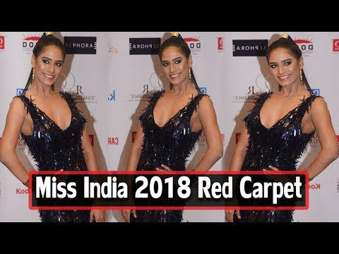 Hot Poonam Pandey At Miss India Grand Finale 2018 Red Carpet