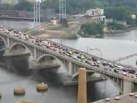 35W Bridge Collapse - Traffic Nightmare