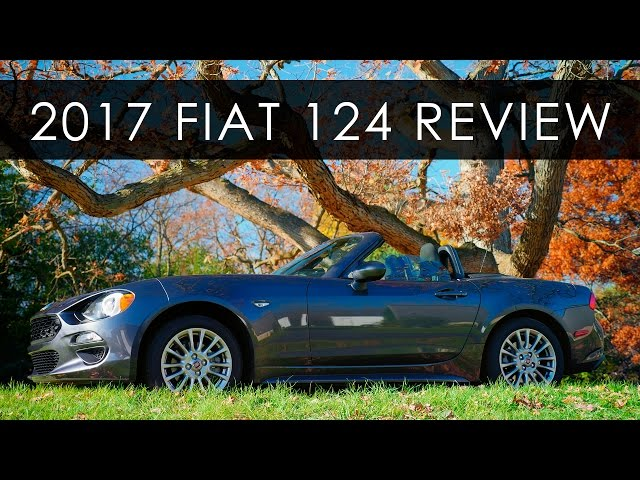 Review | 2017 Fiat 124 Spider | When Basic is Better - YouTube