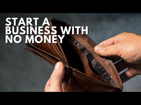 START A BUSINESS WITH NO MONEY!