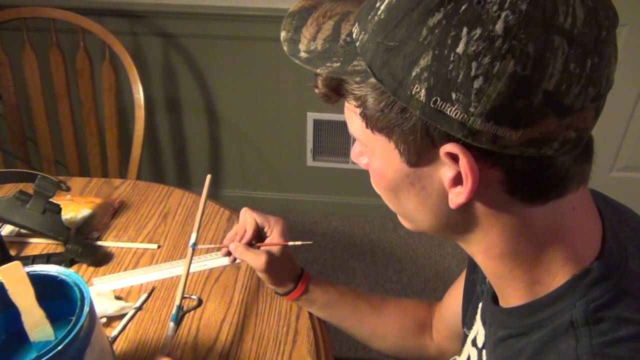 Traditional arrow making youtube - How to make a homemade bow and arrow out of wood ...