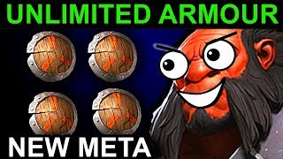 UNLIMITED ARMOUR AXE - DOTA 2 PATCH 7.06 NEW META PRO GAMEPLAY