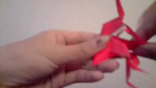 (origami) How To Make Shiva Nataraja (part 1)