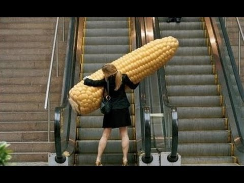 Funniest Escalator Fails February 2013